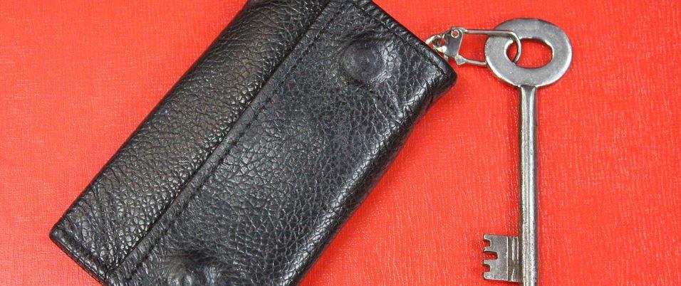 Schlüsseletui Leder